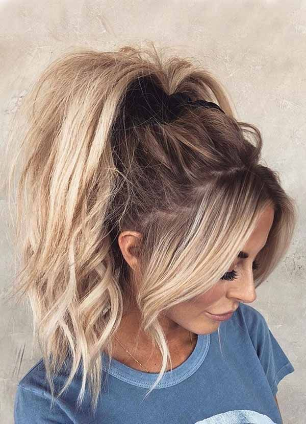 If Are On A Search For Something Different This Collection May Help You Find The Best Among The Hair S High Ponytail Hairstyles Hair Styles Ponytail Hairstyles