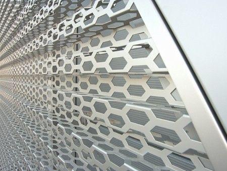 Audi Terminal Facades Rmig Metal Cladding Cladding Metal Facade