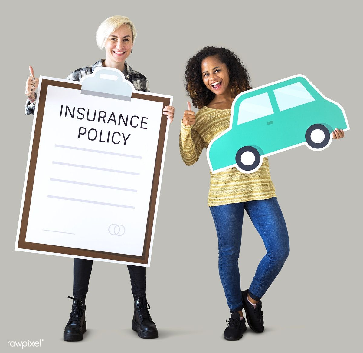 Download Premium Psd Of Women With Car Insurance Icons 414595