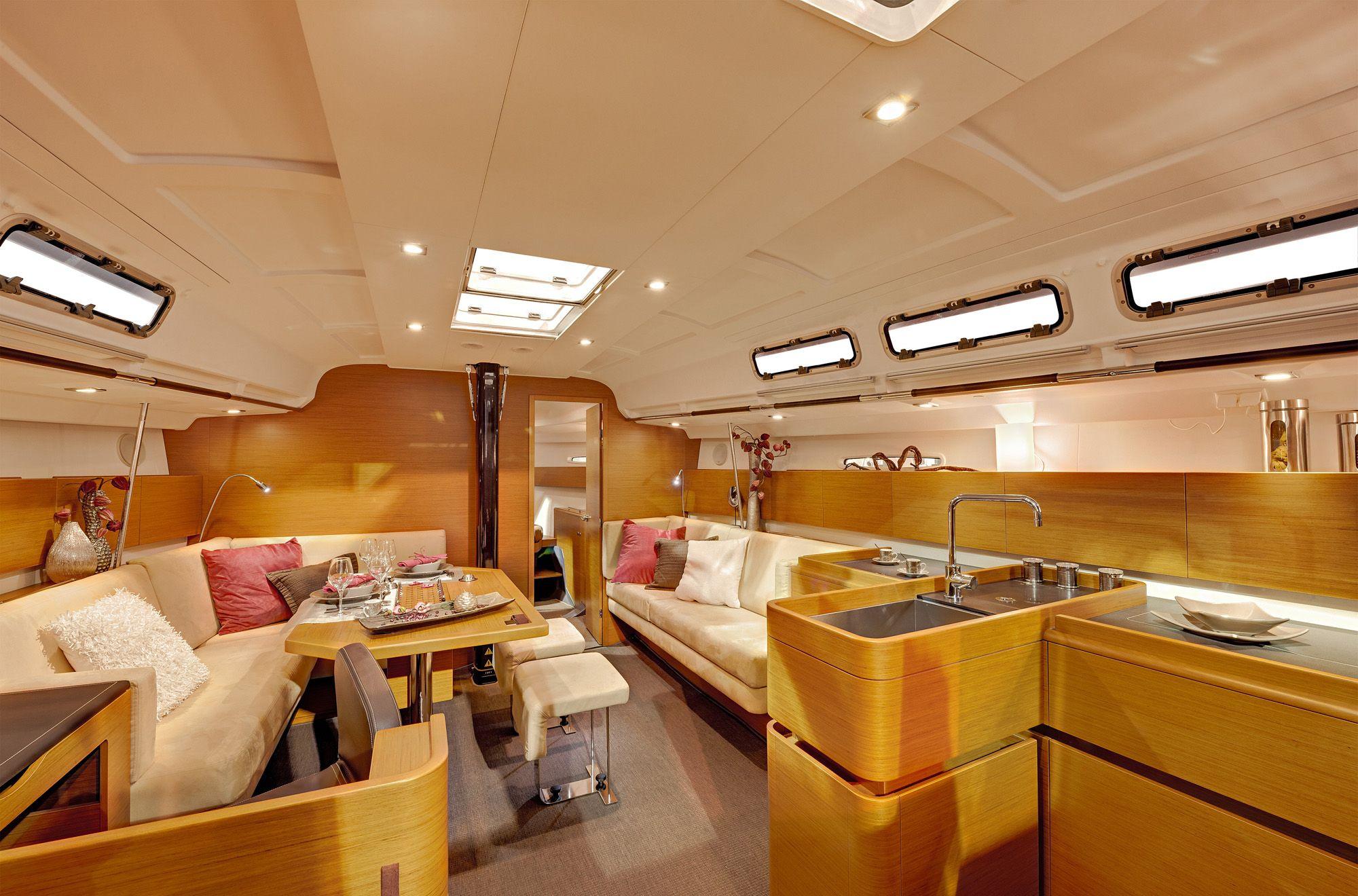 Beneteau First 45 Yacht Interiors Boat Interior Yacht Interior
