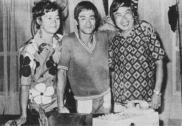 Behind the scenes of The way of the dragon