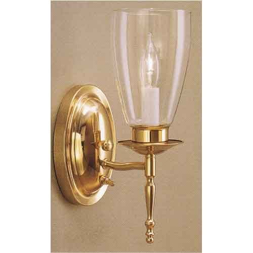 Push On Wall Sconce Pb