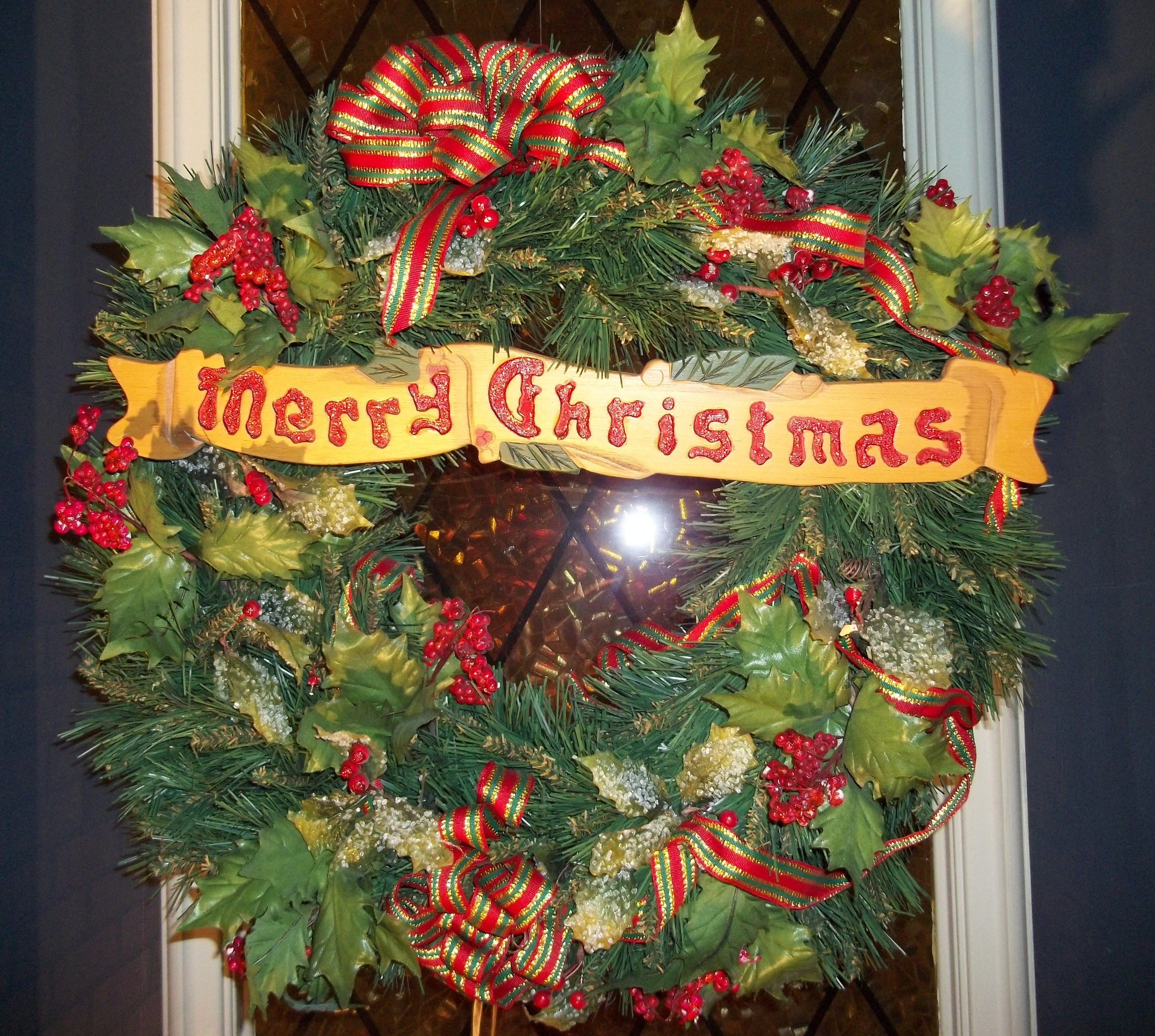 merry christmas wreath christmas pinterest