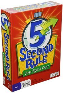 Amazon Com 5 Second Rule Just Spit It Out Toys Games Games
