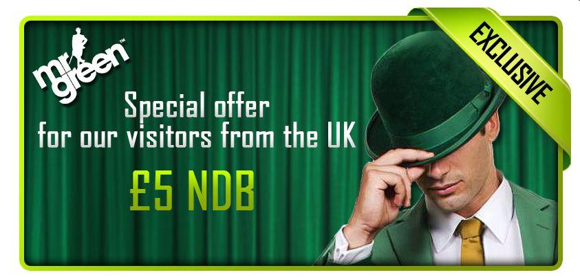 Mr Green Casino Bonus Code 2017