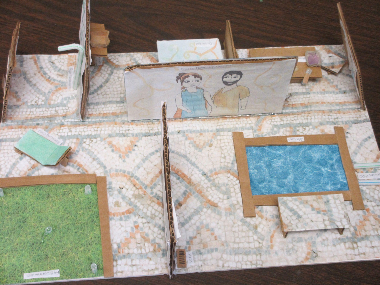 Model Roman House