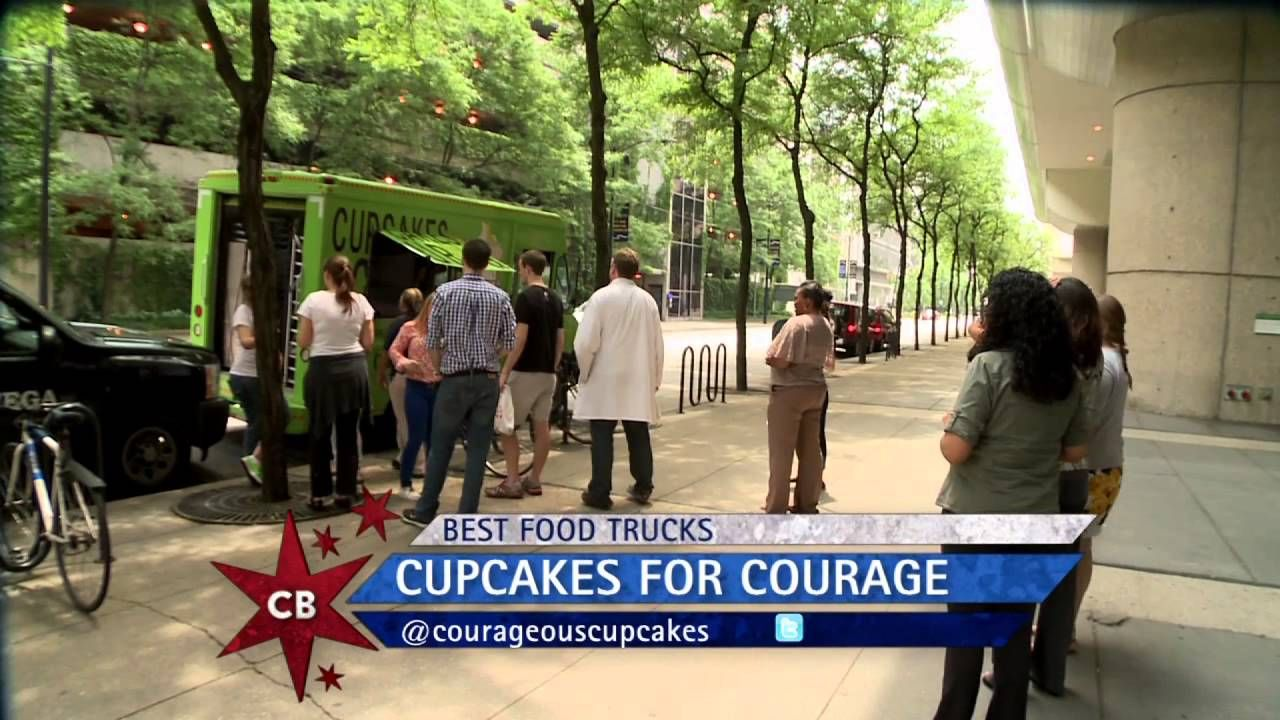 Chicago's Best Food Trucks: Cupcakes for Courage. Elmhurst, IL (about 20 miles west of Chicago).