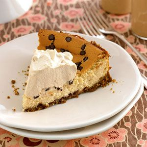 St Patrick's Day: Irish Cream Cheesecake from familycircle.com #stpatricksday