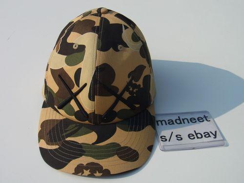 BAPE x KAWS BASEBALL CAP bathing ape newera originalfake 5panel companion  watch 300dfcbbe5f