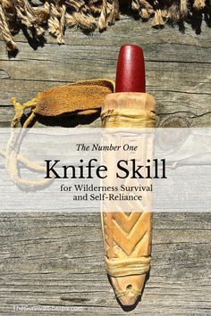 The Quantity One Knife Talent for Wilderness Survival and Self-Reliance - TheSurviv....  Discover more at the photo