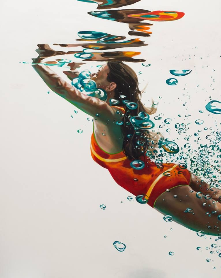 underwater painting easy - 766×960