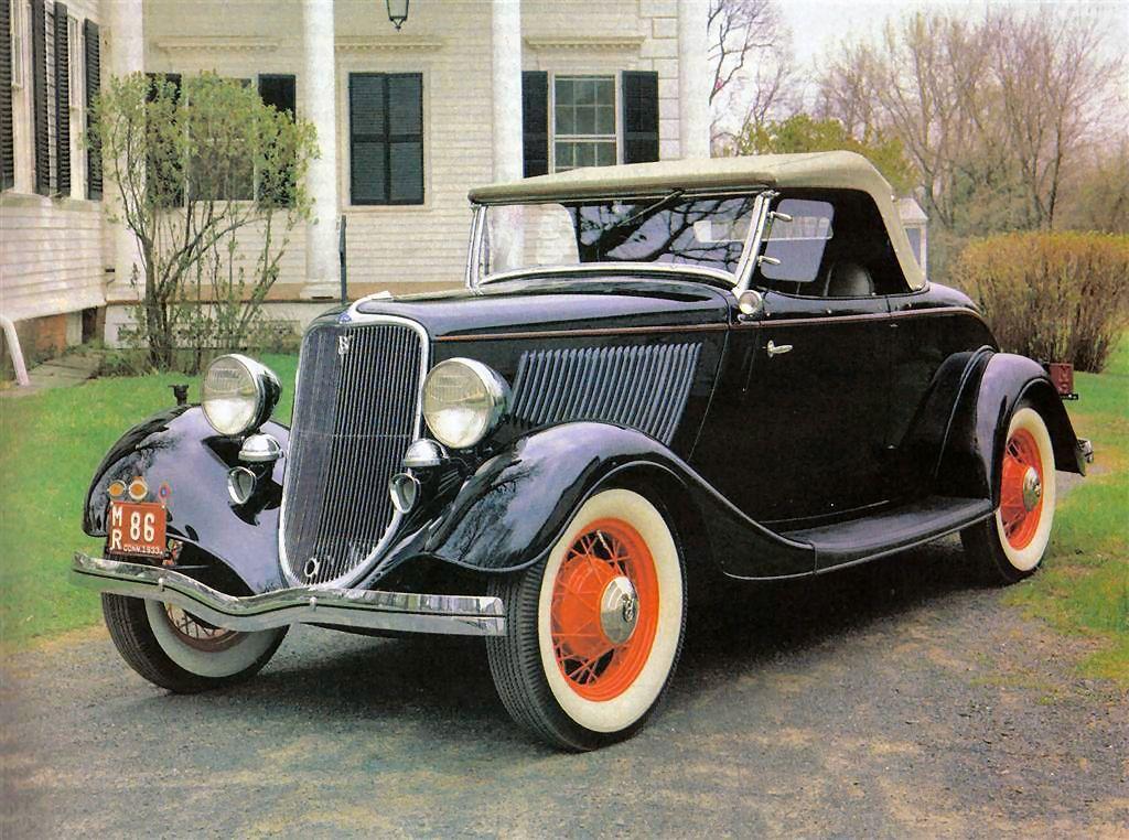 1933 Ford. Maintenance/restoration of old/vintage vehicles: the ...