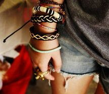 Inspiring picture bracelets, cute, fashion, girl, gold. Resolution: 500x333 px. Find the picture to your taste!