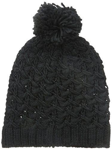 4758b891e5d Nine West Womens Chunky Zig Zag Knit Beanie Black One Size -- Continue to  the