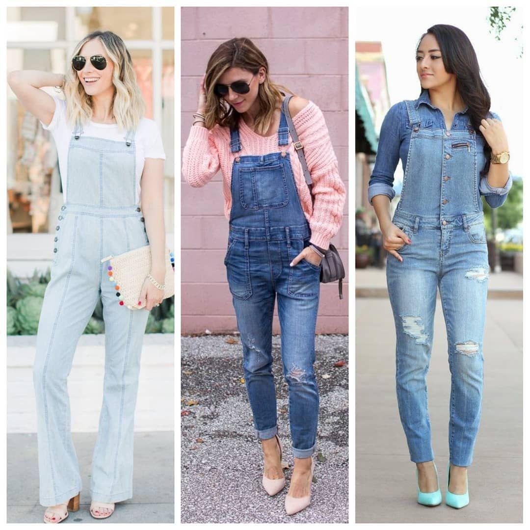 7166e5fd6f9f14 Querendo algo diferente da calça jeans, que tal um macacão ...