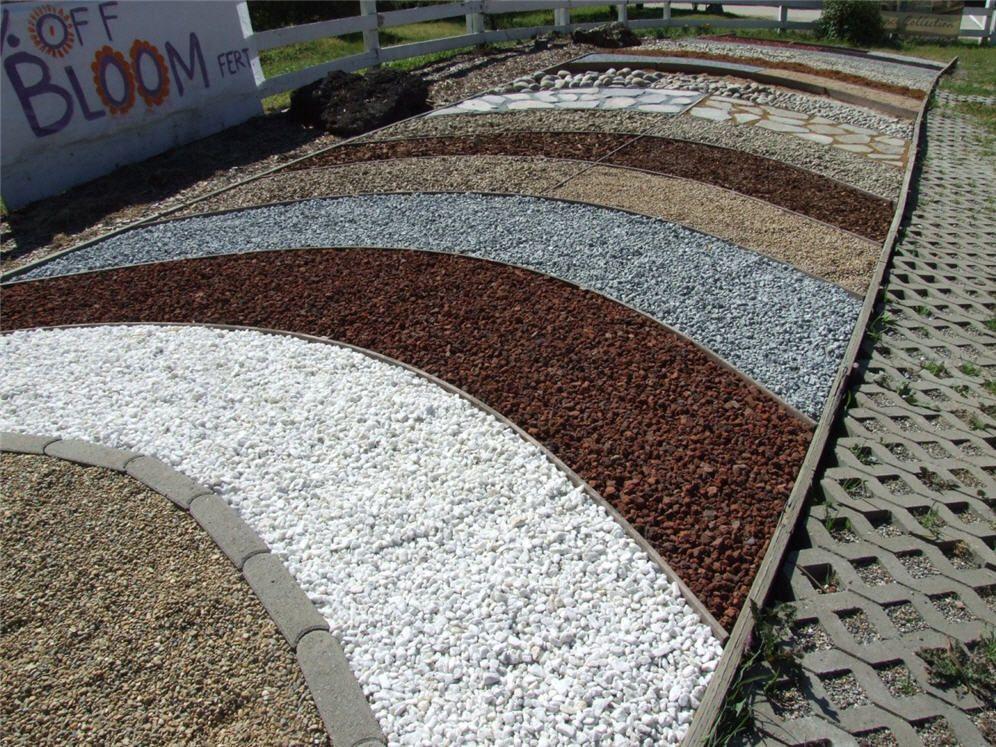 gravel colors | Different Color Gravel Samples | June ...