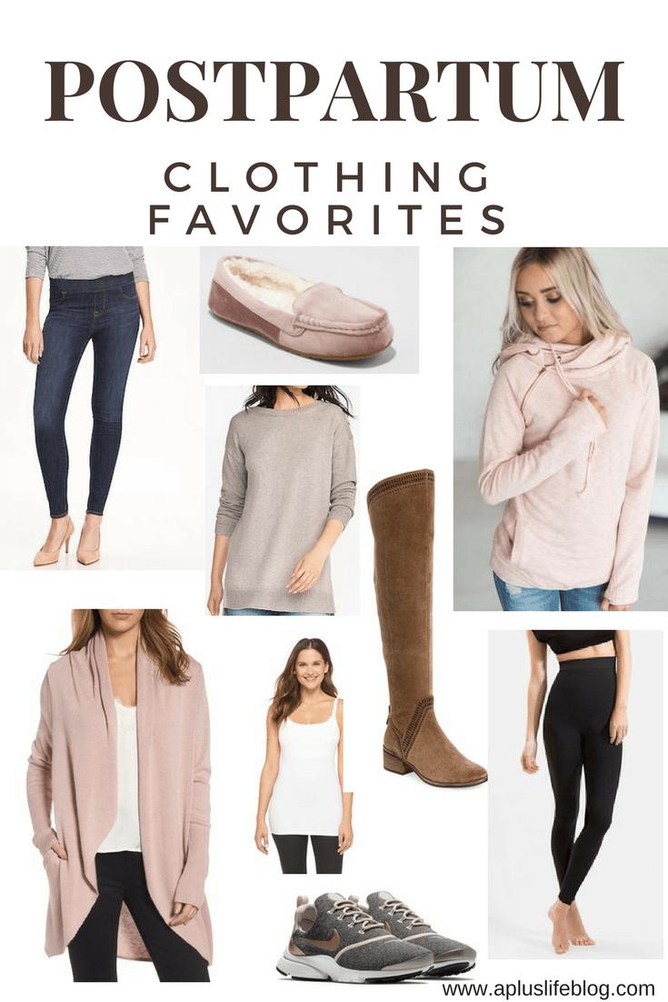 f4759819185d9 Postpartum Clothing Favorites, Postpartum, Postpartum Clothes, Mom Style,  Mom Clothes, #momstyle #postpartum #momjeans