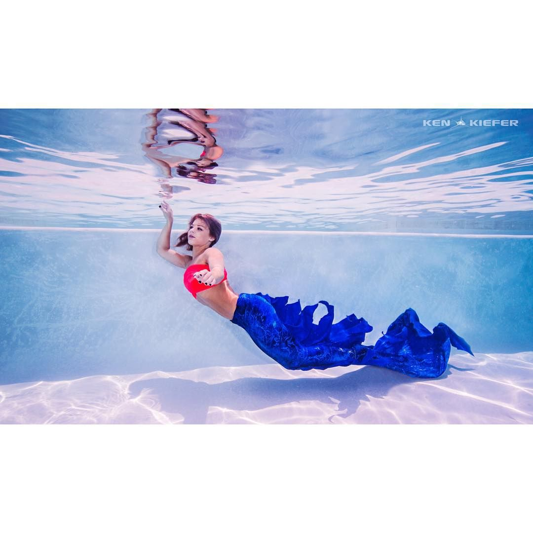 """""""Mermaid @stormiemo_  just chillin for 2016"""""""