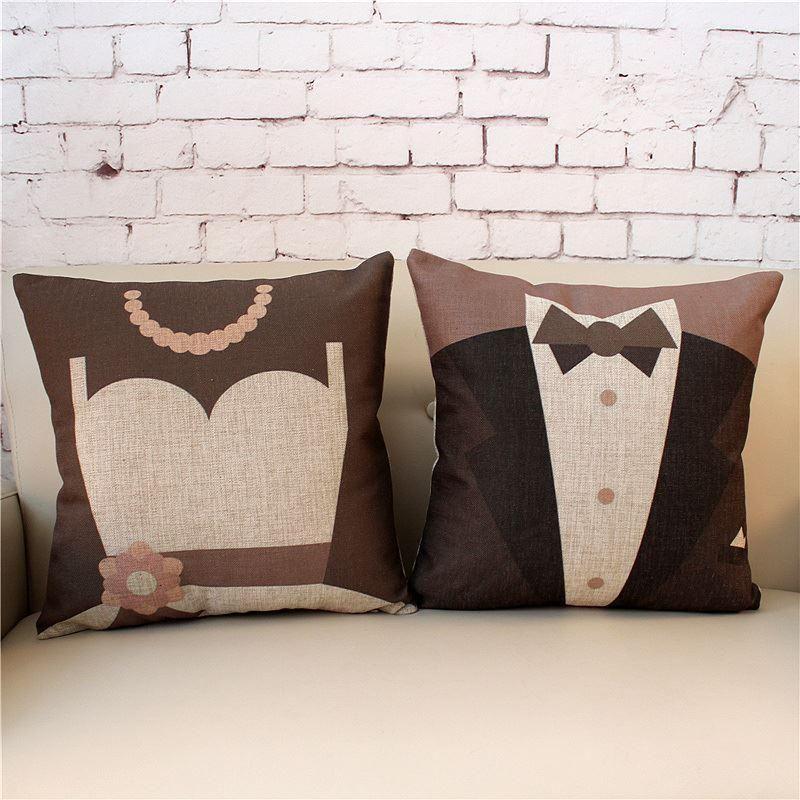 Encuentra el mejor vestido de boda del modelo cojín algodón lino cojines fundas de almohada para la boda, a precio al por mayor del proveedor fundas de edredón chino - dh527 en es.dhgate.com.