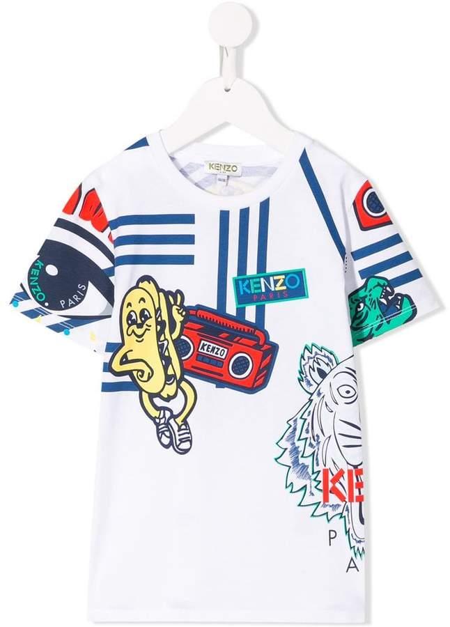 158fe7b3 Kenzo all-over print T-shirt | Products in 2019 | Kenzo kids, Kids ...