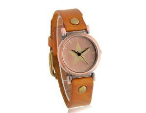 Tanboo Women's Round Dail Analog Watch with PU Leather Strap (Yellow) by Tan Watches. $9.99. Comfortable PU leather strapStyle:Casual. Gender:Female. Display Type:Analog. Women's round dial analog watchWomen's round dial analog watchPowered by high quality quartz movementComfortable PU leather strapWater resistant. Powered by high quality quartz movement. Women's round dial analog watchPowered by high quality quartz movementComfortable PU leather strapWater resistantGener...
