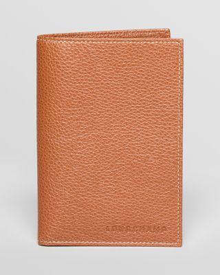 d208ae4ccd08 LONGCHAMP Le Foulonne Passport Wallet.  longchamp