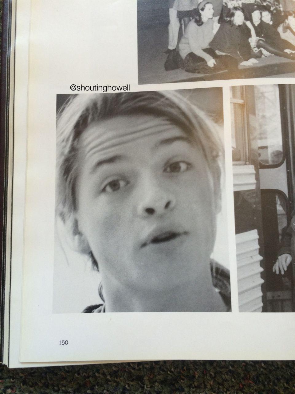 Misha's yearbook photo!!!   The Misha Collins Files ...