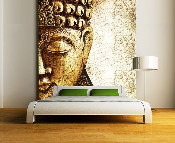 Serene Buddha Wall Murals On Bedroom Best 55 Wall Murals Ideas For