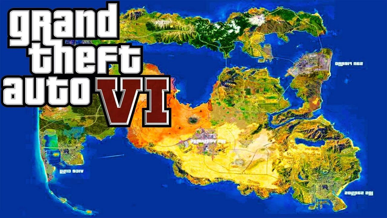 GTA 6 Mapping | News of video game | Gta 5 online, Gta 5, Gta