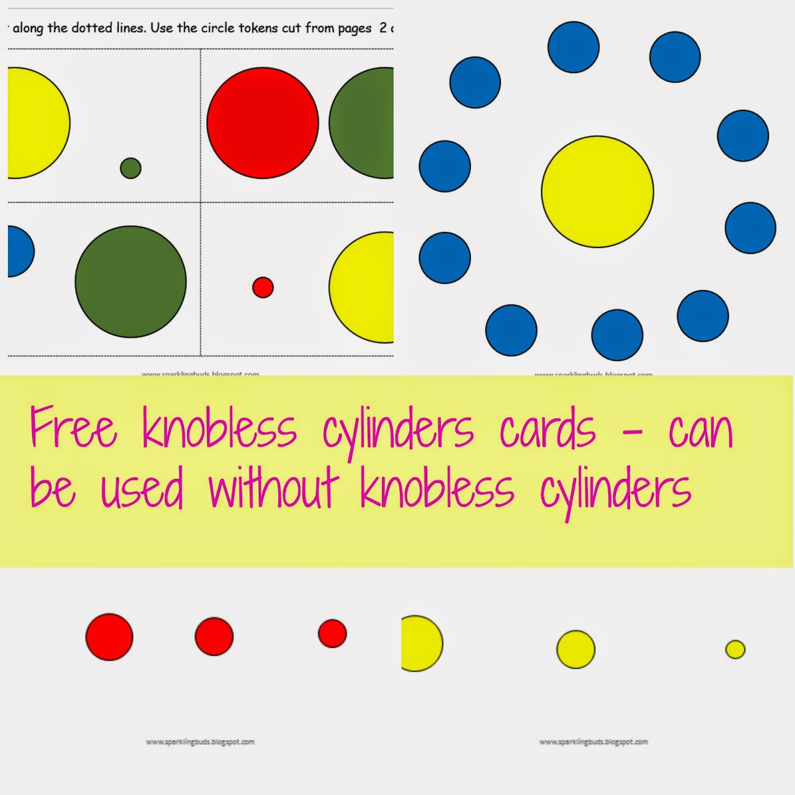 Free Knobless Cylinder Cards From Edutainment At Home