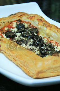 Terapia do Tacho: Tarte de tomate e quejio feta (Tomato and feta cheese tart)