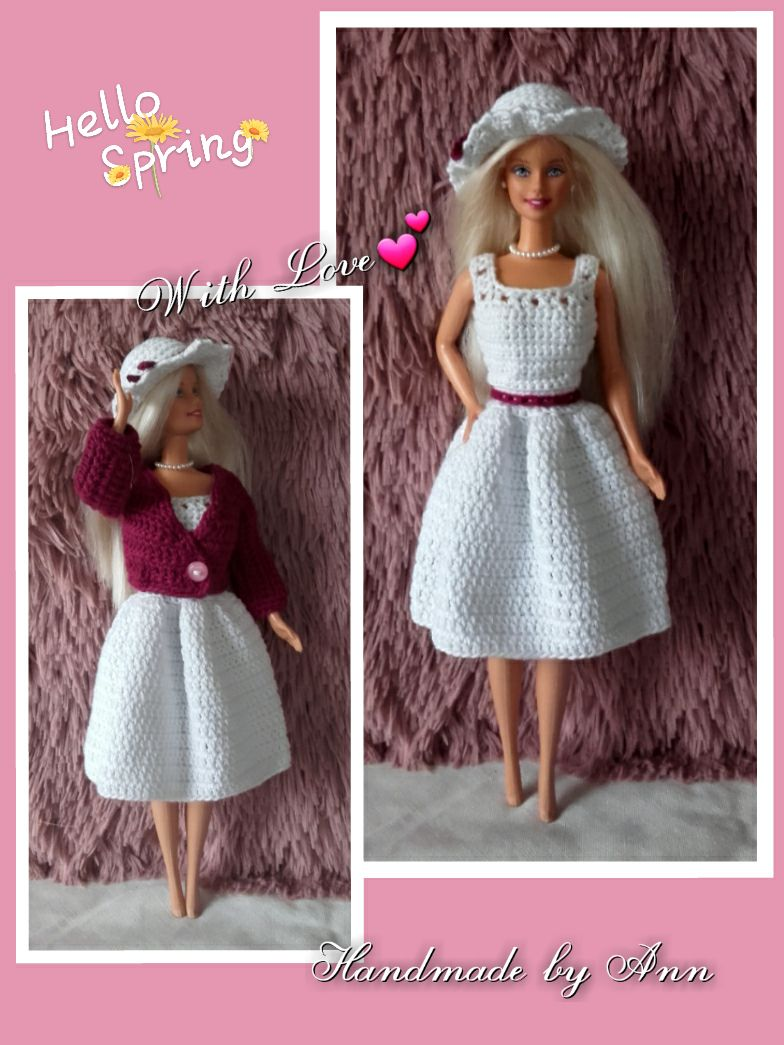 Een Blog Over Haken En Gratis Haakpatronen Barbie Clothes