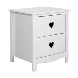 Buy Argos Home Skandi 1 Drawer Bedside Table White Two Tone Bedside Tables In 2020 White Bedside Table Argos Home Girl Bedside Table