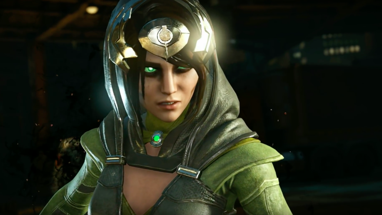 Injustice 2 Official Enchantress Trailer The Demonic Sorceress Will Come To The Game January 9 For Early Access Ja Injustice 2 Roster Injustice 2 Dc Injustice