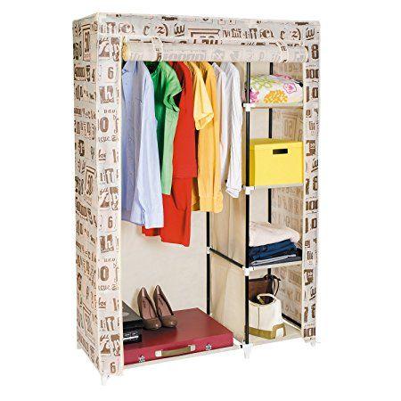 Artmoon Manitoba Kleiderschrank Garderobenschrank Faltschrank 105x45x160 Cm Garderobe Schrank Garderobenschrank Und Garderobe