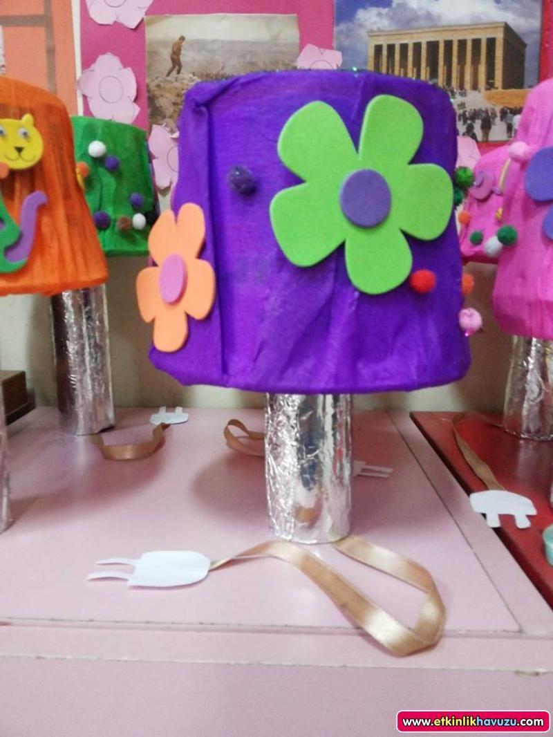 Okul öncesi Abajur Yapımı Googleda Ara Okul öncesi School Ve Art