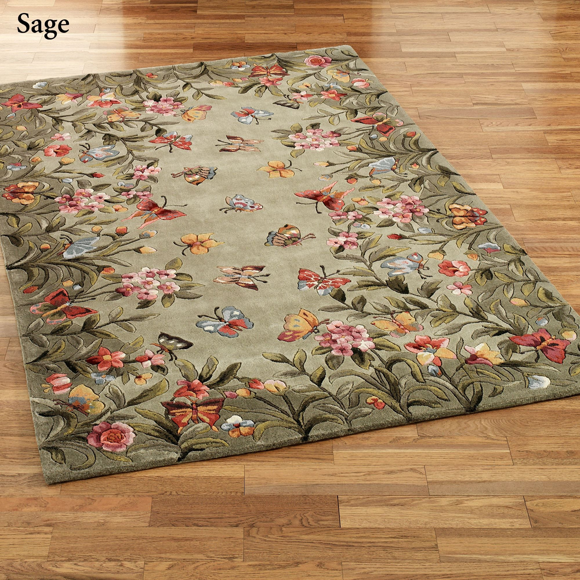 Athena Garden Round Area Rugs Rugs Rugs Floral Area Rugs