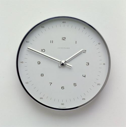 Junghans Uhren / Clock / 1958 Max Bill Pinterest Clocks