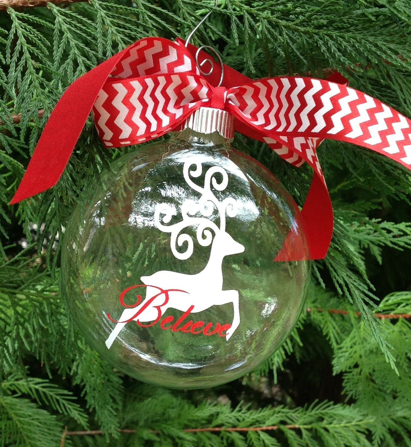 New Swirly Reindeer Ornament 8 Ea Boxed Find Me On
