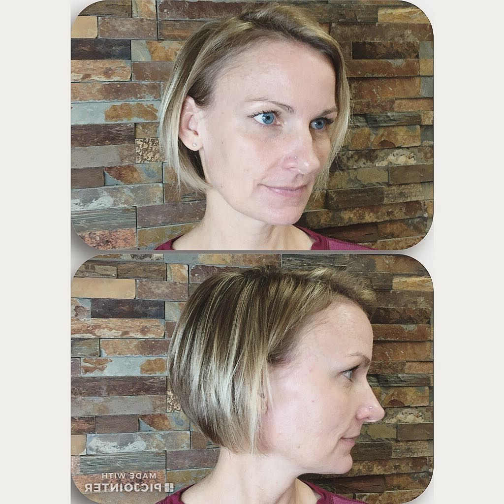 38 Short Layered Bob Haircuts With Side Swept Bangs That Make You Look Younger