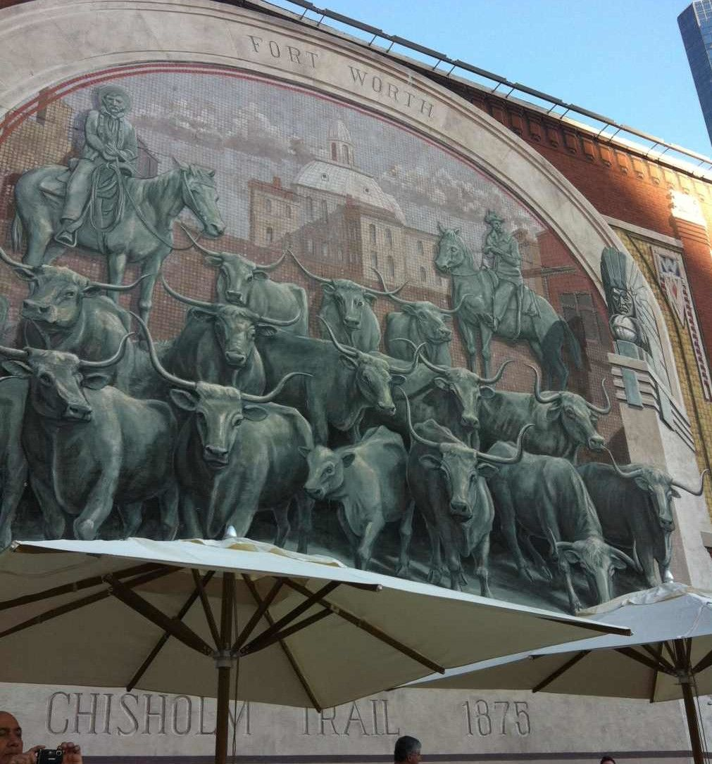 Fort Worth mural