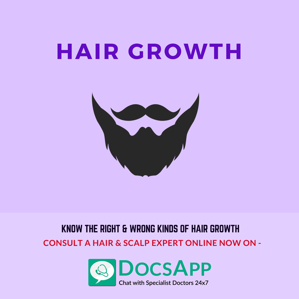 Know the Right and Wrong about your Hair Growth Beard