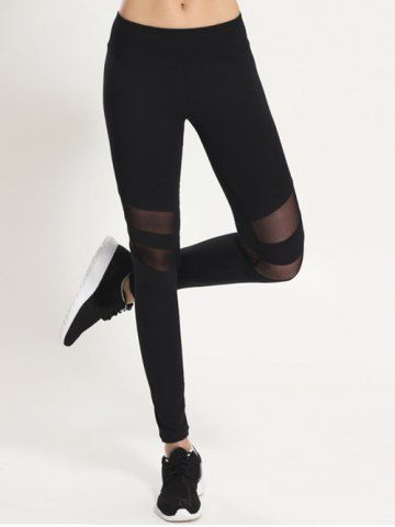 GET $50 NOW | Join RoseGal: Get YOUR $50 NOW!http://m.rosegal.com/gym-pants-leggings/stretchy-mesh-patchwork-sporty-leggings-726347.html?seid=8201669rg726347