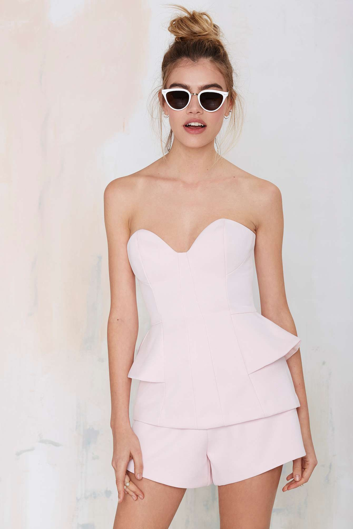 Finders Keepers Take a Shot Structured Romper