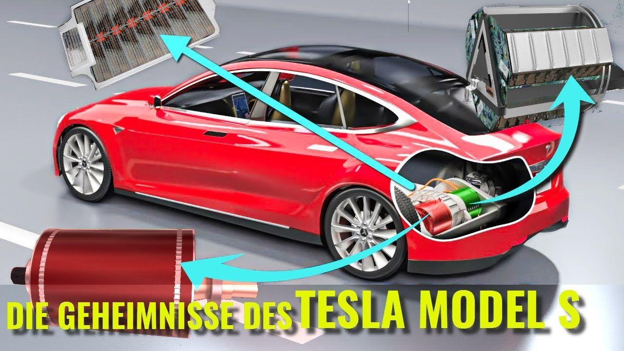 Wie funktioniert ein Elektroauto ?   Tesla Model S   All Tesla Model ...