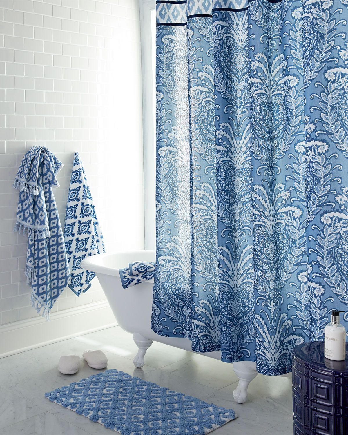 Dena Home Madison Shower Curtain Curtains Home Fabric Design