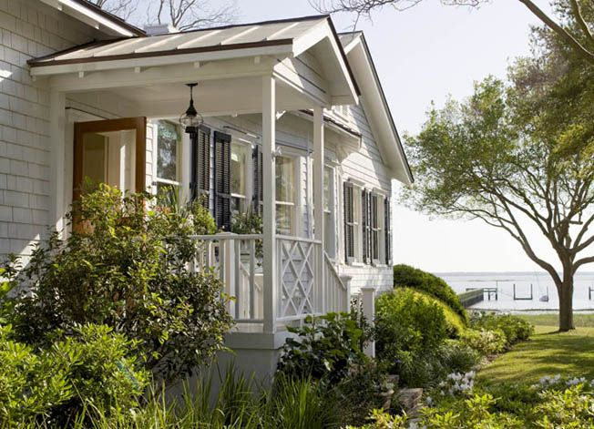 Turquoise Tulips And Bliss Mondays Marvel Beach Cottage Style Cottage Exterior Cottage Style