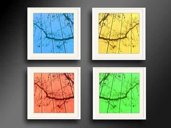 """Shadows on the Wall"" Print Set #printset #abstractset #Modernart #AgiPhotoGallery"