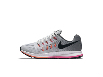 622ec445216 Nike Air Zoom Pegasus 33 -Pure Platinum Cool Grey Pink Blast Black ...