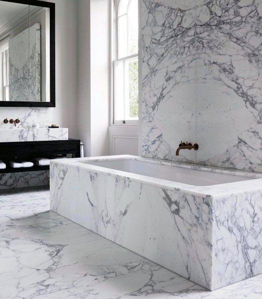 Photo of Top 70 Best Marble Bathroom Ideas – Luxury Stone Interiors